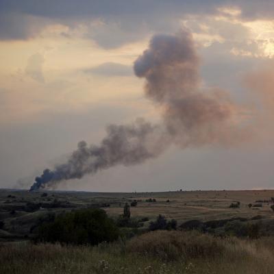 В Украине упал самолет