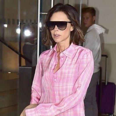 Виктория Бэкхем прогулялась по Нью-Йорку в пижаме