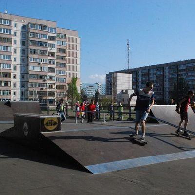 В Киеве на берегу Днепра откроют скейт-парк