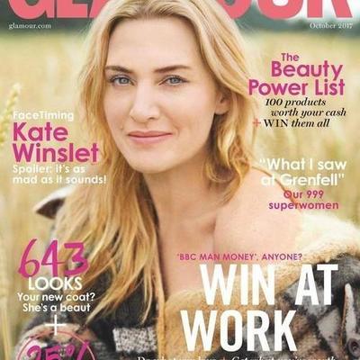 Кейт Уинслет украсила обложку Glamour