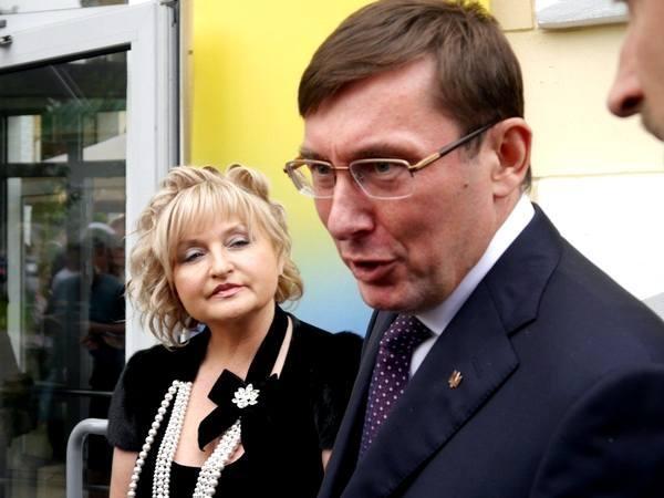 Картинки по запросу Луценко с женой фото
