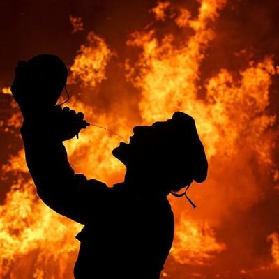 На фестивале Burning Man в США заживо сгорел мужчина (фото)