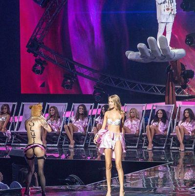 Феминистка пыталась сорвать конкурс Мисс Украина 2017: охранник упал вместе с ней в зал (фото)