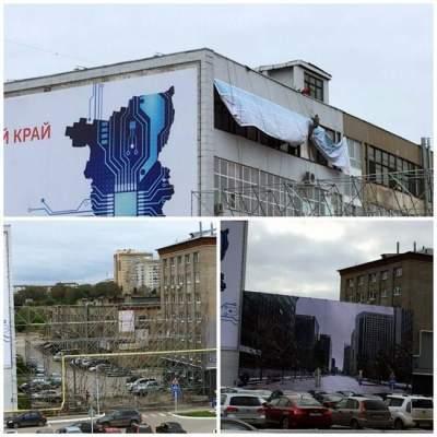 К приезду Путина в Перми оперативно «построили» новую улицу (фото)