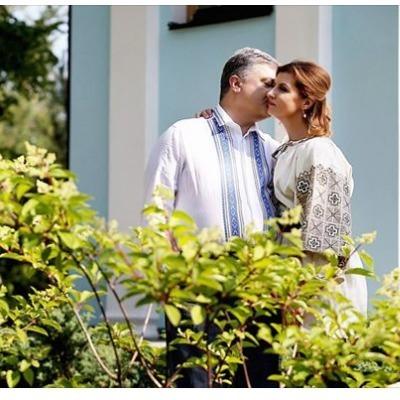 Петр и Марина Порошенко отмечают 33-ю годовщину свадьбы
