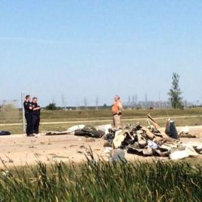 В Канаде пилот угнал самолет и разбился на взлете