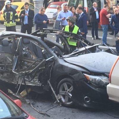 В результате взрыва в Киеве пострадала всемирно известная модель Dior
