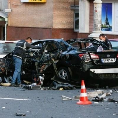 Во время взрыва в центре Киева погиб чеченец Тимур Махаури (видео)