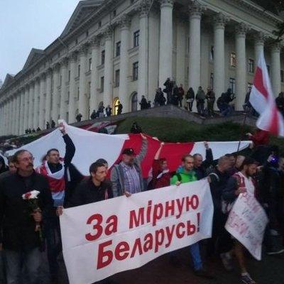 Разгневанные белорусы выступили против российских войск (фото, видео)