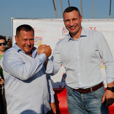 Мэр Киева Виталий Кличко приехал в Днепр на День города