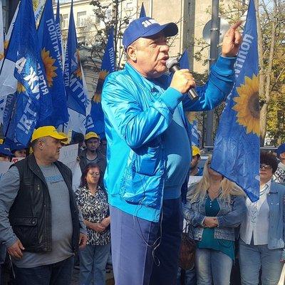 Рабинович пообещал не сворачивать акцию под НБУ до привлечения Гонтаревой и Рожковой к ответственности