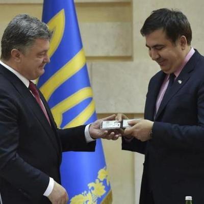 Порошенко прервал молчание и высказался о Саакашвили (фото)