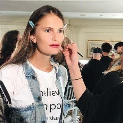 Алла Костромичева дефилировала для бренда Мери-Кейт и Эшли Олсен на Недели моды в Нью-Йорке