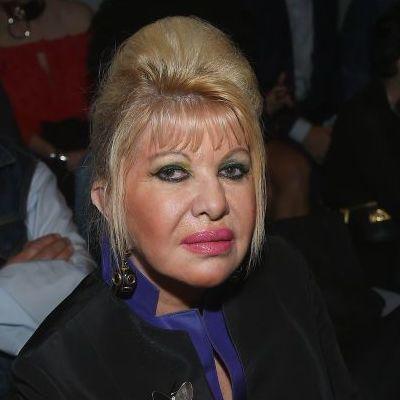 С макияжем переборщила: бывшая жена Дональда Трампа на модном показе в Нью-Йорке