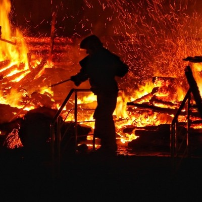 Страшный пожар в лагере Одессы унес жизни двух детей