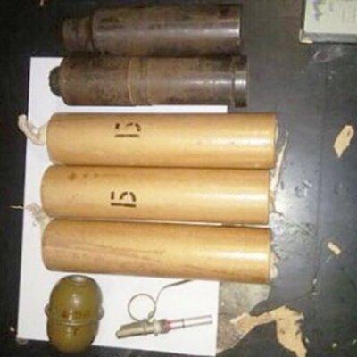 В киевском метро полиция нашла у парня целый арсенал боеприпасов
