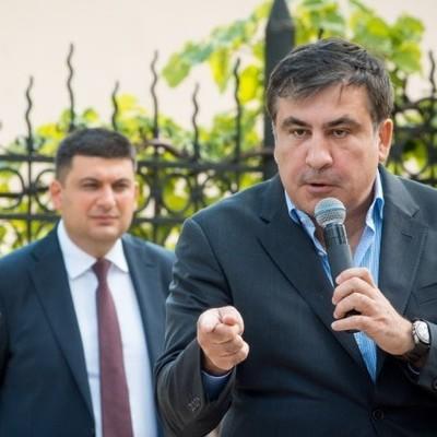 Гройсман не знает, что делать в связи с приездом Саакашвили
