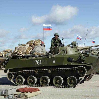 Танковая армия РФ готовится к войне