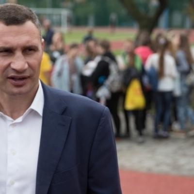 Виталий Кличко: «Мы откроем обновленный легкоатлетический манеж в мае следующего года»