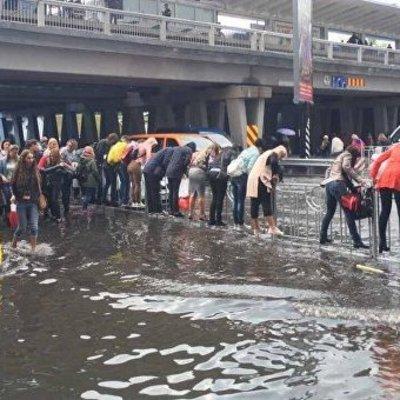 Потоп в Киеве: некоторые улицы оказались под водой