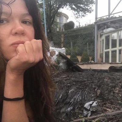 В дом Русланы попала молния (фото)