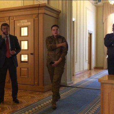 Савченко удивила новым нарядом (фото)