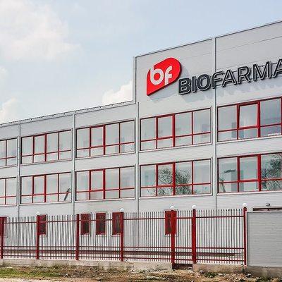 В Белой Церкви горит фармацевтическая фабрика «Биофарма» (фото)