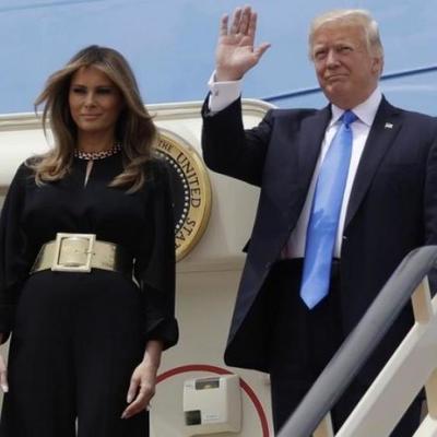 Дональд Трамп не узнал жену (фото, видео)