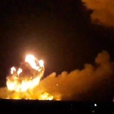 «Эвакуация в радиусе 40 км»: В Виннице взрываются крупнейшие склады боеприпасов в Украине (фото, видео)