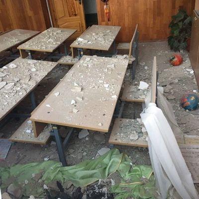 Видео и фото разрушенной снарядами школы под Винницей набирают просмотры