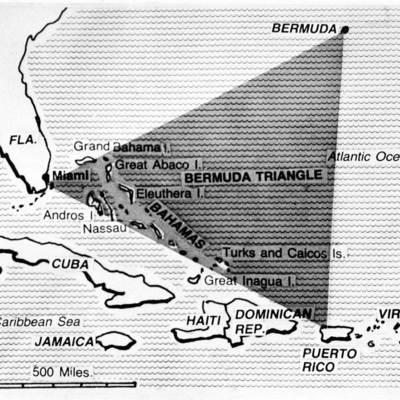 В Бермудском треугольнике нашли потерянный город (видео)