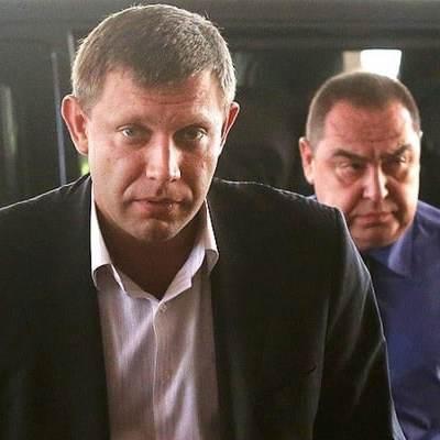 Захарченко и Плотницкого сравнили со скульптурами у мясного павильона