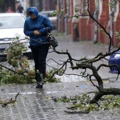 В 16 областях Украины объявлено штормовое предупреждение