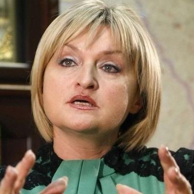 Представитель президента Ирина Луценко: «Вынеси козла! Вынеси его на фиг» (видео)