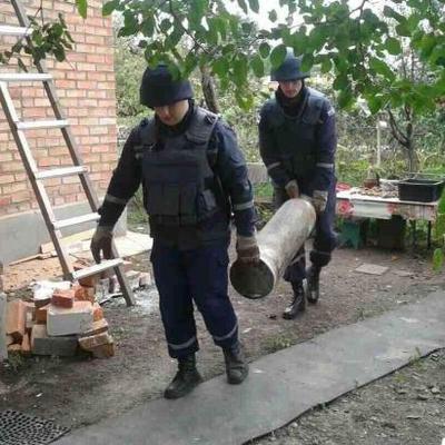 ГСЧС изъяла более 1,8 тыс. взрывоопасных предметов в ходе разминирования под Калиновкой