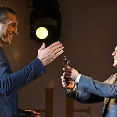 Братья Кличко получили награды в Германии за боксерские достижения
