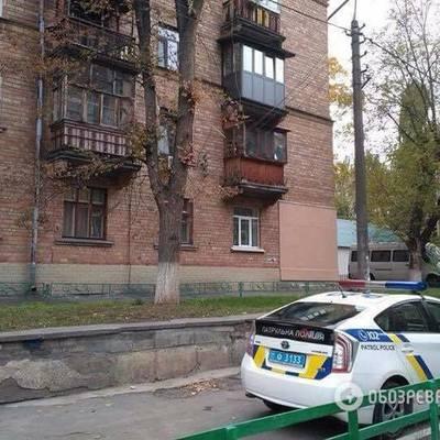 В Киеве мужчина открыл стрельбу из окна жилого дома в Голосеевском районе