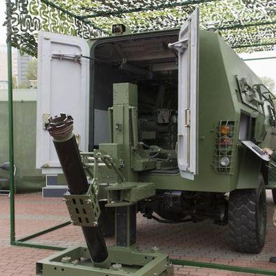 В Киеве показали достоинства нового минометного комплекса «Барс-8ММК»