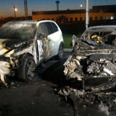 В Харькове сожгли авто экс-прокурора области
