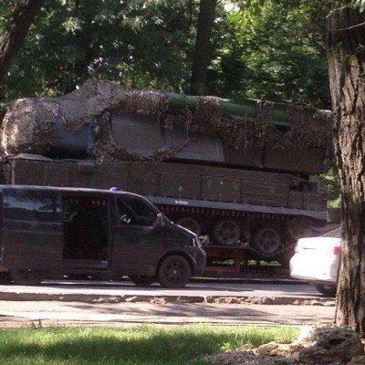 Появился новый снимок российского «Бука» на Донбассе (фото, видео)