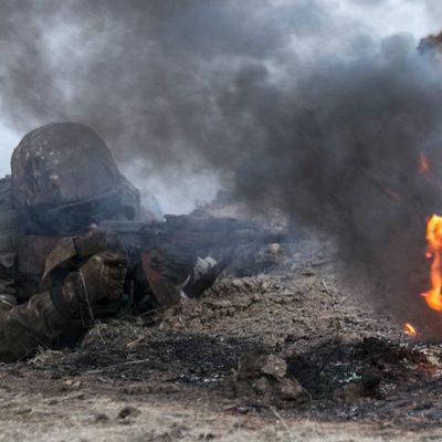 В зоне АТО кроме четырех погибших украинских военных, есть много раненых