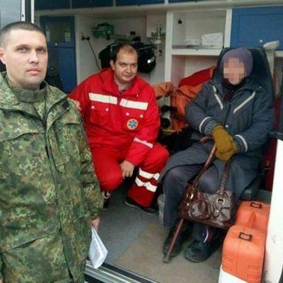 На Луганщине 74-летнюю женщину уговорили не прыгать с моста