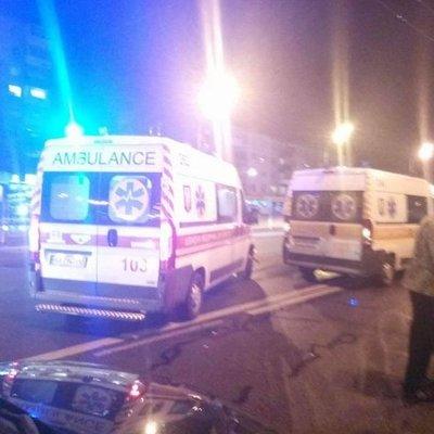 В Киеве пьяный водитель устроил масштабную аварию и обвинил во всем НЛО (видео)