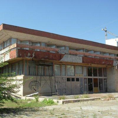В Одессе горит санаторий «Красные зори»