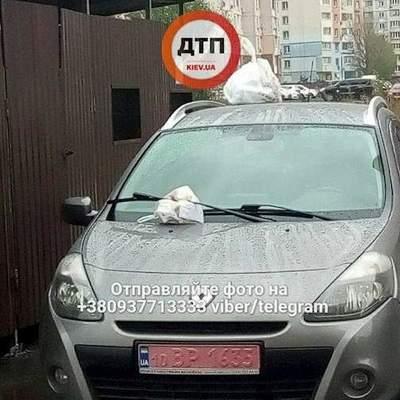Киевляне оригинально проучили наглого «героя парковки» (фото)