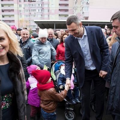 Кличко открыл новый детсад на Троещине, рассчитанный на 300 детей