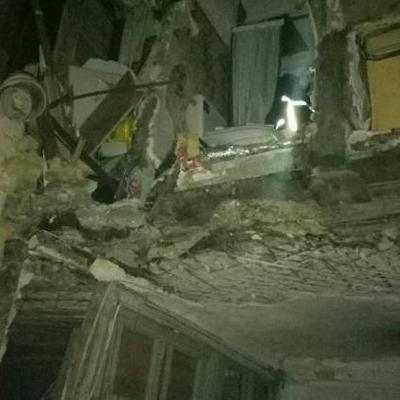 В Одессе обрушилась стена жилого дома