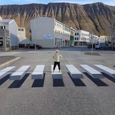 Уличное искусство может спасти от ДТП