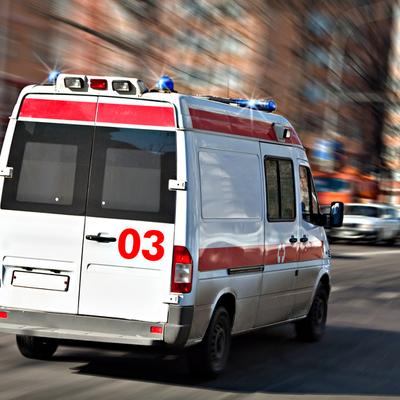 В Киеве на Героев Днепра произошло масштабное ДТП, пятеро пострадавших