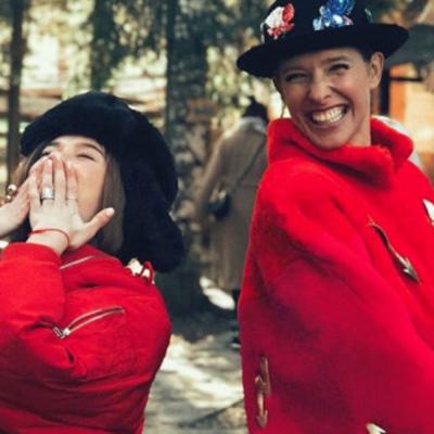Гуцулки-мольфарки: Катя Осадчая и Мария Яремчук отдохнули в Карпатах (фото)